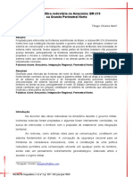 A Geopolitica Rodoviaria Na Amazonia BR