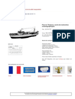 Maquette de Bateau _ Plan Du Thalassa- New CAP Maquettes