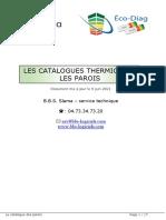 Catalogues - Parois