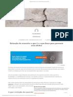 Retração do concreto_ o que é e o que fazer para prevenir seus efeitos