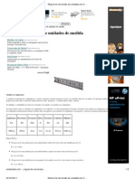 Regras de conversão de unidades de medida - Cola da Web