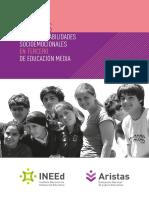 Aristas Marco de Habilidades Socioemocionales en Tercero de Educacion Media