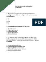 PREGUNTAS CURSO DE NEUROORTOPEDIA 2007 DR. RIVERA