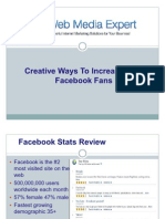 Creative Ways To Increase Your Facebook Fans (2)