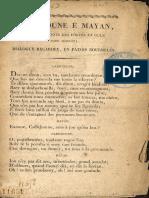 Cadichoune é Mayan, ou Les doyennes des fortes én gule daou marcat ; dialogue regardey, én patois bourdelés