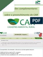 InformacoesPreenchimentoCAR