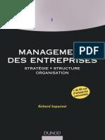 Management Des Entreprises – Stratégie • Structure • Organisation by Richard Soparnot (Z-lib.org)