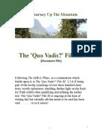 The 'Quo Vadis?' File III