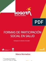 Presentación Formas de Participación Social