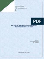 Estudio de Mercado Joana Quijada Luz 2021
