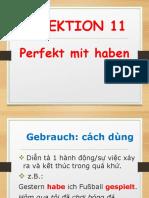 Menschen Lektion 11 Grammatik