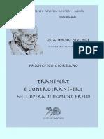 Transfert e Controtransfert Nell Opera Di Freud