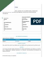 Contraloría General de la República, Dictamen N° E123413N21, fecha 21-07-2021. Materia