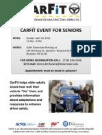 Carfit Flier PDF