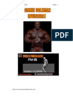 Ebook RONNIE COLEMAN Invincible[1]