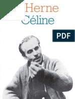 Cahier de L'Herne Ferdinand Céline