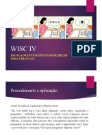 5ª aula Wisc IV- Aplicação