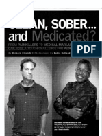 Clean Sober and Medicated