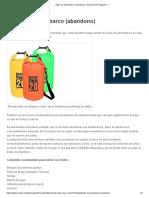 2. Bolso de desembarco (abandono) - Manual de Navegación - 1