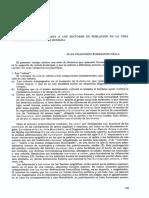 La Terminologia Aplicada A LosSectores De Poblacion EnL a V