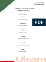 Tarea 1 - Organizacion y Metodos