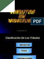clasificacion de los tributos en venezuela