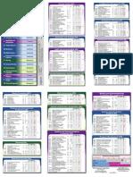 NIST SP 800-53 Tri-Fold Card