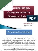 Clase 6 Bienestar Animal y Fisioclimatología 2015