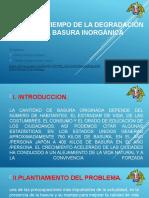 informe de los residuos solidos inorganicos 1