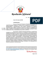 Rj 077- Aprueba Plan Vigilanca Covid en El Trabajo