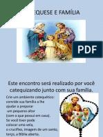 Catequese e Família a Criação