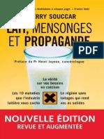 Lait - mensonges et propagande Souccar, Thierryextrait