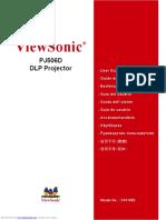 Pj506d User Guide