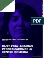 Programa Yasna Provoste Campillay