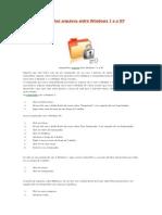 Como compartilhar arquivos entre Windows 7 e o XP