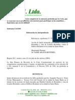 SENTENCIA T-633-03 REST DEUDORES ASAMB