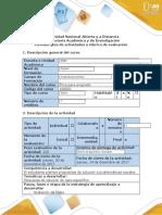 Guía de actividades y rúbrica de evaluación tarea 6 propuesta de solución