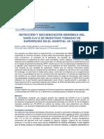 Detección y secuenciación genómica del SARS