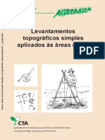 Agrodok 6. Levantamentos Topográficos Simples Aplicados Às Áreas Rurais