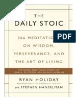 The Daily Stoic (Traduccion)