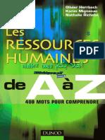 Les Ressources Humaines de a à Z