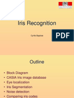 Iris Recognition Exercise
