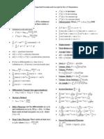 Calculus_Formula_Sheet