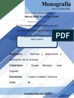 APA observacion y registro en el área clinica