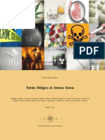 MATRIZES BIOLOGICAS DE INTERESSE FORENSE
