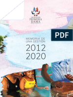 Memoria Despacho de La Primera Dama 2012-2020