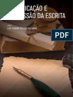 Comunicação e Expressão Da Escrita - 1-2021 ESTÁCIO