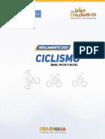 2021 CICLISMO Reglamento Técnico V1