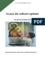 Icoana din sufletul copilului (2)