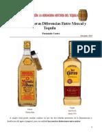 Fernanda Castro - Las Verdaderas Diferencias Entre Mezcal y Tequila (2018)